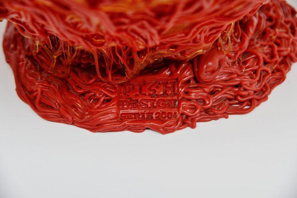 Gaetano Pesce XXL spaghetti bowl for Fish Design 2004