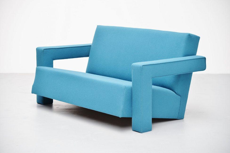Gerrit Thomas Rietveld Utrecht sofa Metz & Co 1960