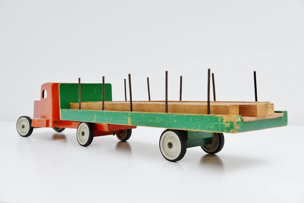 Ado Ko Verzuu toy truck Houthandel 1948