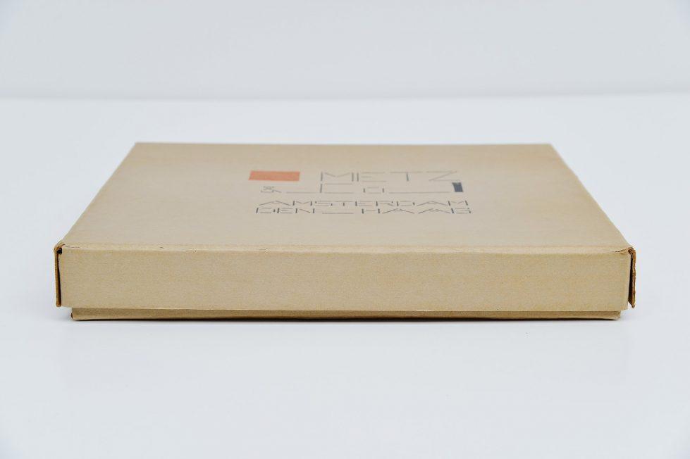 Bart van der Leck flat packaging box Metz & Co Holland 1935