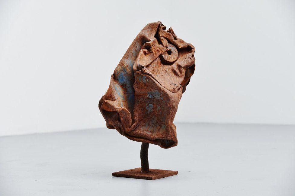 Theo Niermeijer abstract modern trash sculpture 1970