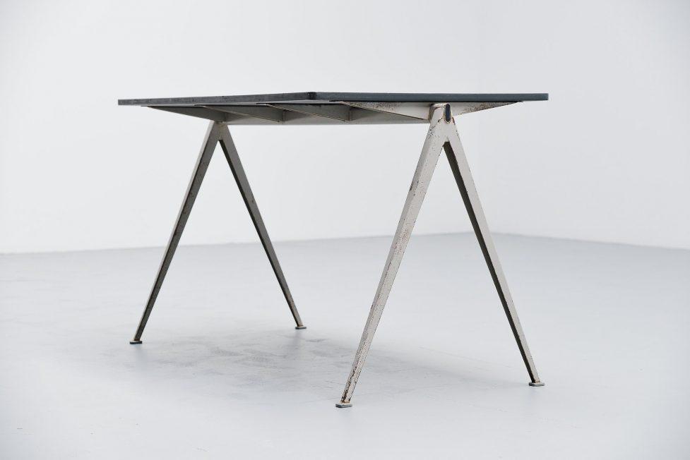 Wim Rietveld Pyramid table Ahrend de Cirkel 1960