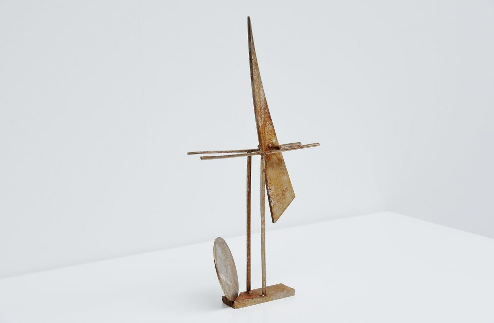 Theo Niermeijer abstract modern mobile sculpture 1970