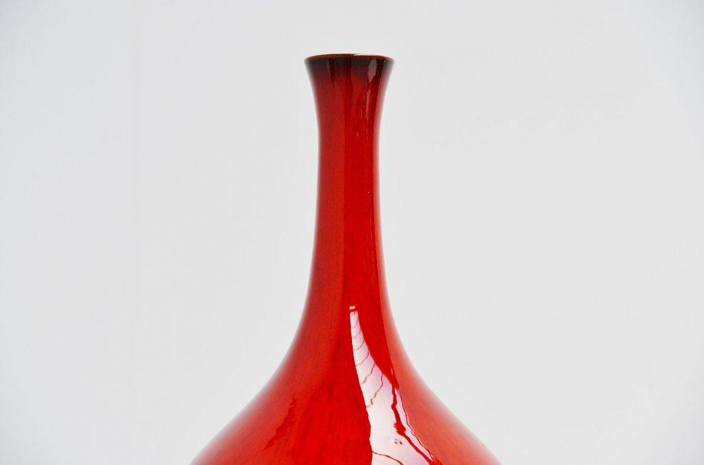 Amphora Rogier Vandeweghe ceramic vase Belgium 1963