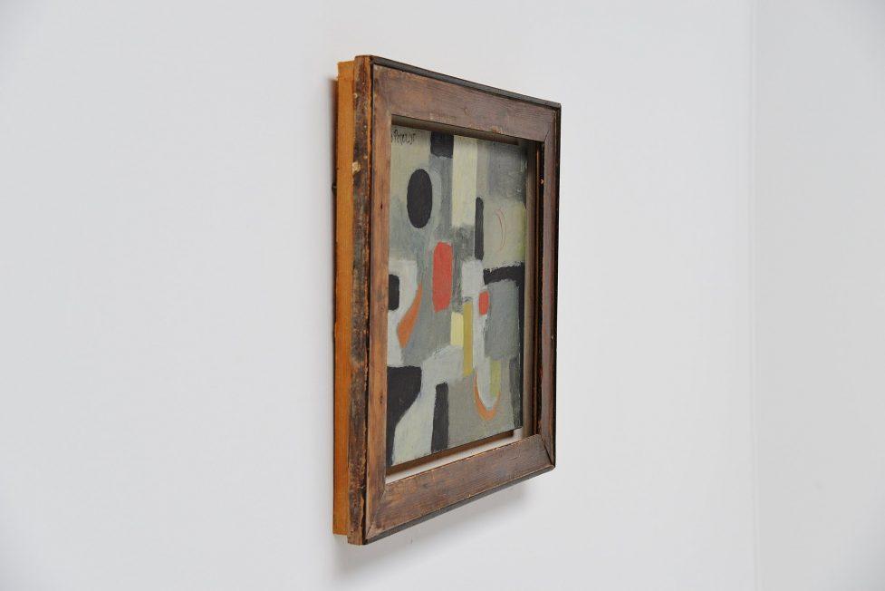 Joao Perez abstract modern painting 1955