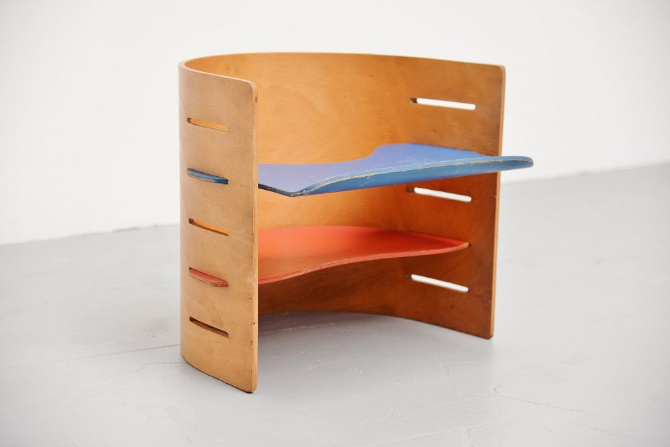 Kristian Solmer Vedel kids chair Orskow & Co Denmark, 1957