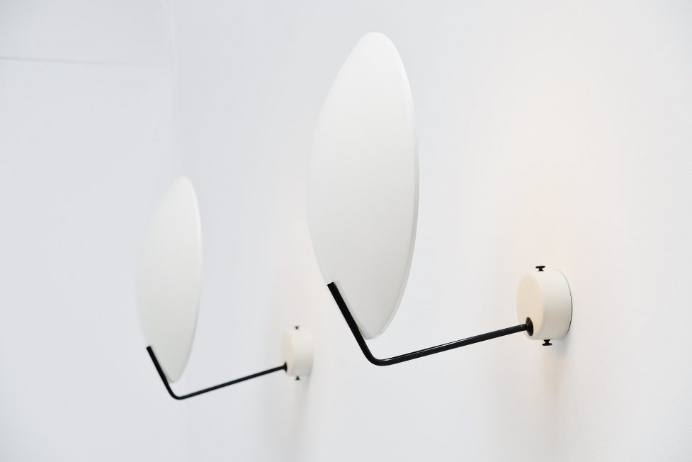 Stilnovo wall lamps Model 232 by Bruno Gatta, Italy 1954