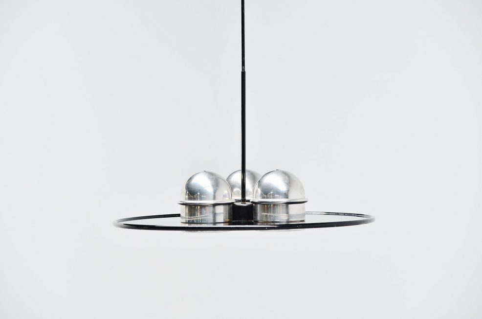 Stilnovo Ettore Sottsass Jr. chandelier, Italy 1970