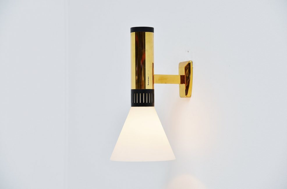 Stilnovo wall lamp model 2109, Italy 1950