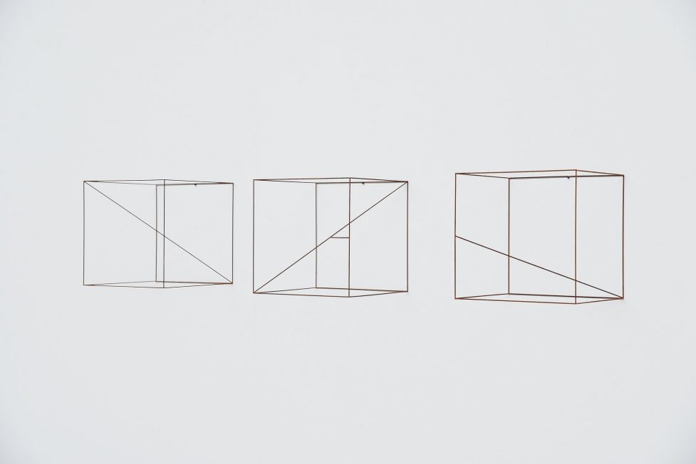 Anne Rose Regenboog cubes stripes set, Den Haag 2015