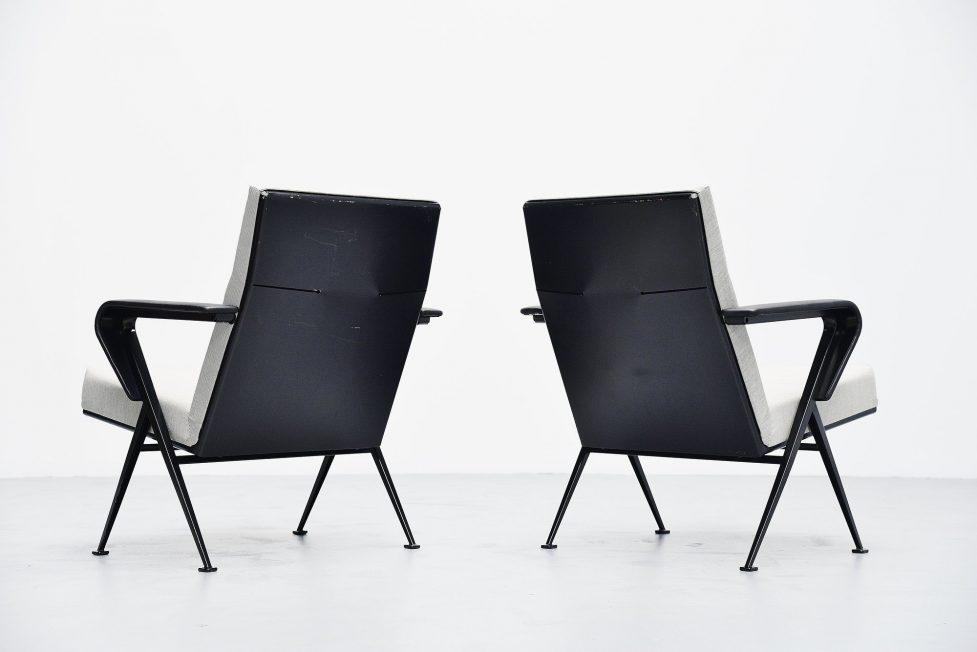 Friso Kramer Repose chairs pair Ahrend de Cirkel 1959
