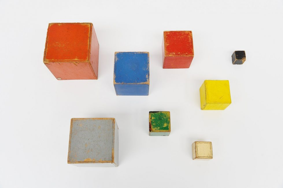 Ado cubes set Ko Verzuu Holland 1937