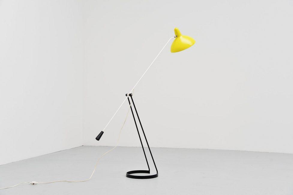 Tivoli floor lamp Floris Fiedeldij Artimeta Soest Holland 1956