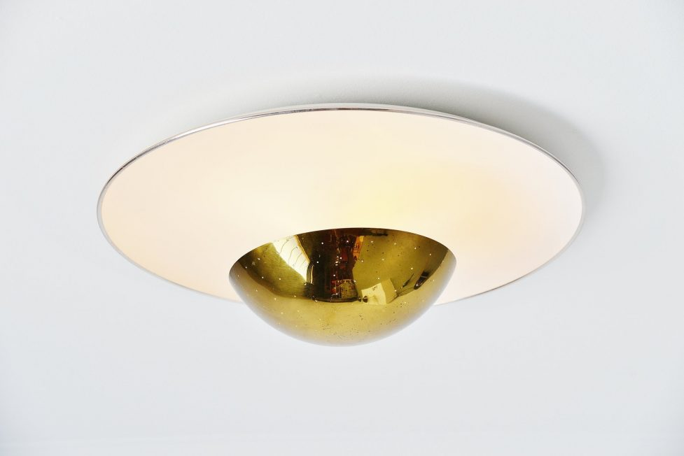 Gino Sarfatti ceiling lamp model 155 Arteluce Italy 1950