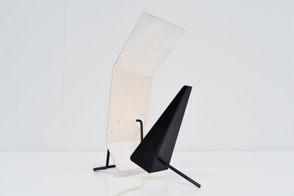 Willy van der Meeren Jean Stuyvaert Tubax table lamp 1955