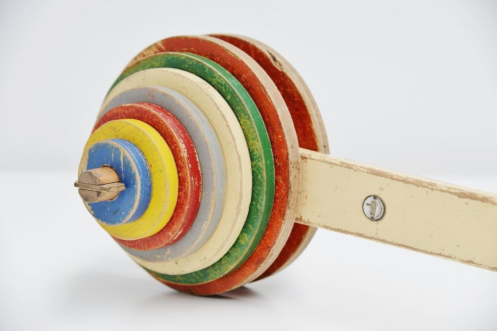 Ado Ko Verzuu kids roll toy Holland 1950