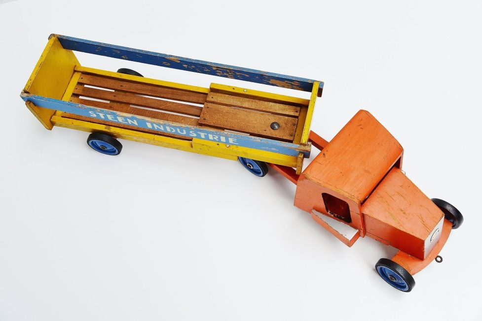 Ado Ko Verzuu steenindustrie truck Holland 1948