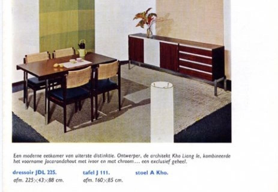 Kho Liang Ie sideboard Wim Crouwel Fristho 1957