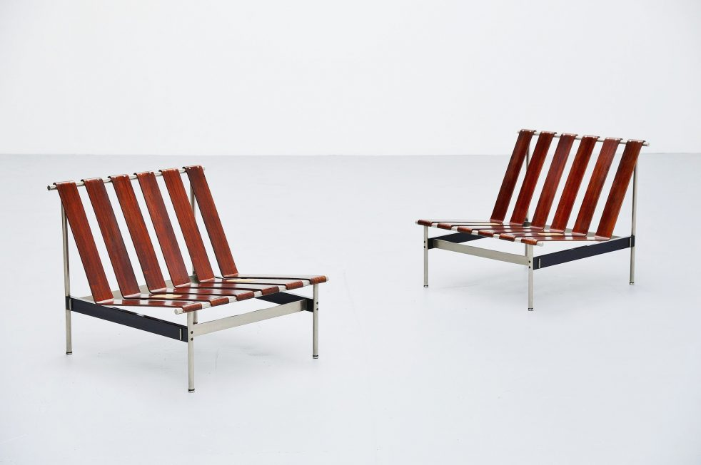 Kho Liang Ie 416 lounge chairs for Artifort Holland 1959