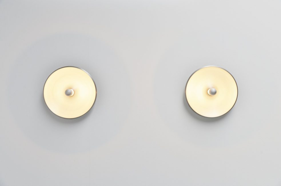 Gino Sarfatti wall lamps model 262 Arteluce Italy 1971