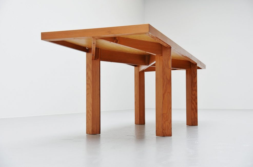 Pieter Maris architectural table Holland 1960