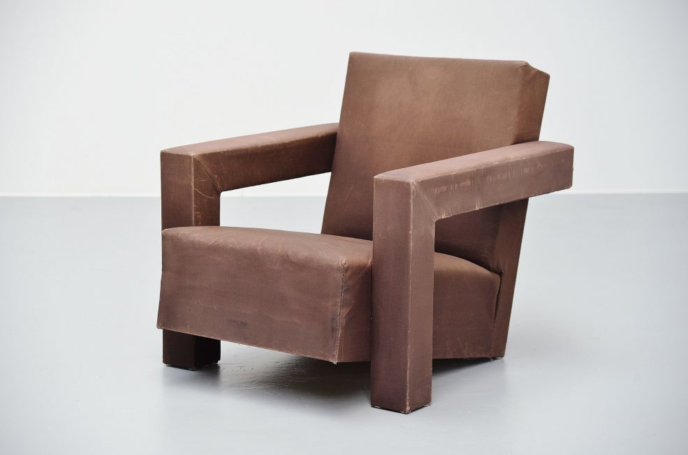 Gerrit Thomas Rietveld Utrecht chair Metz & Co 1960