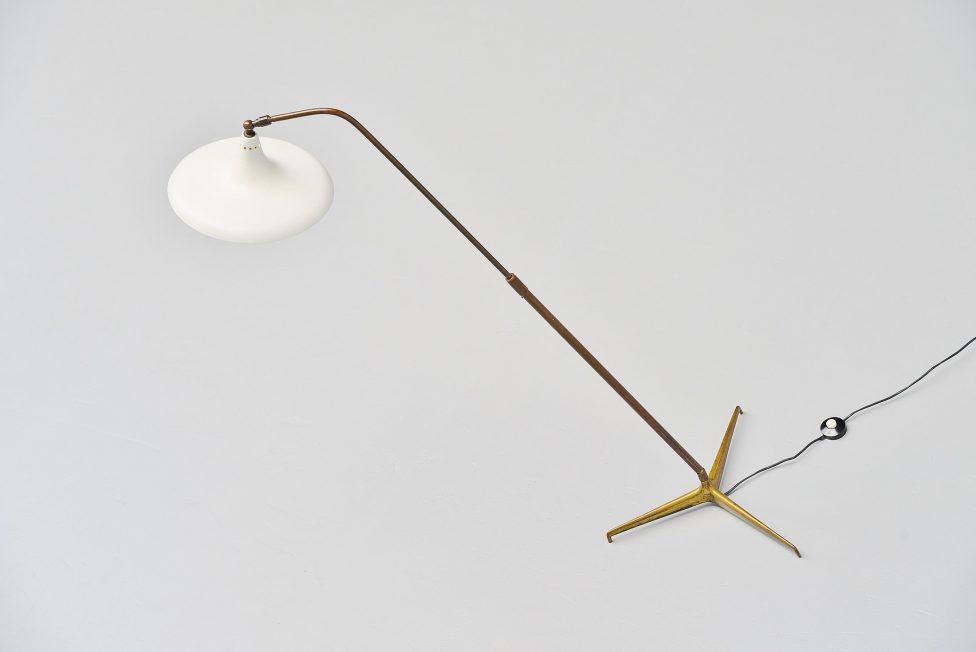 Giuseppe Ostuni floor lamp model Oluce 1950