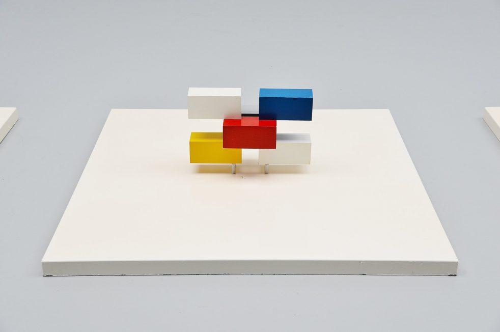 Bander van Ierland Molecular construction Holland 1986 colour