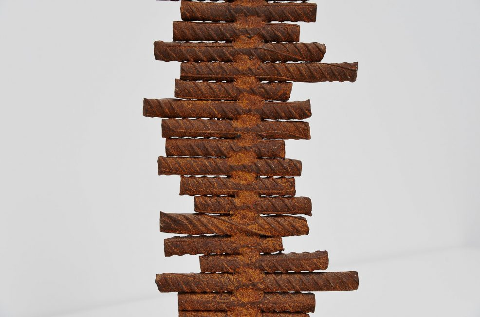 Theo Niermeijer abstract modern pipes sculpture 1970
