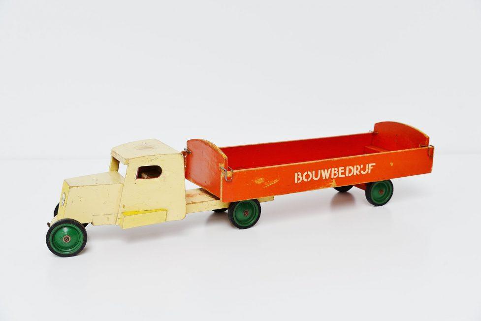 Ado Ko Verzuu bouwbedrijf truck Holland 1948