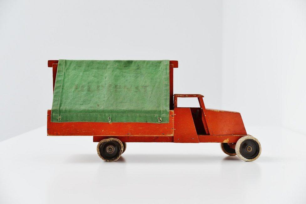 Ado Ko Verzuu Ijldienst truck Holland 1937