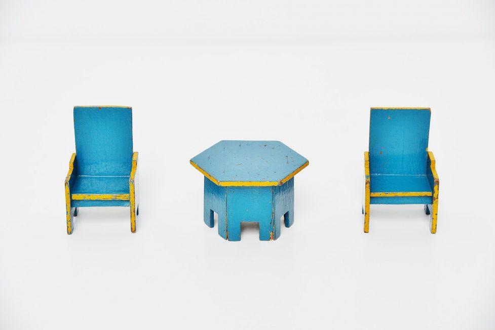 Ado seating set Ko Verzuu Holland 1932