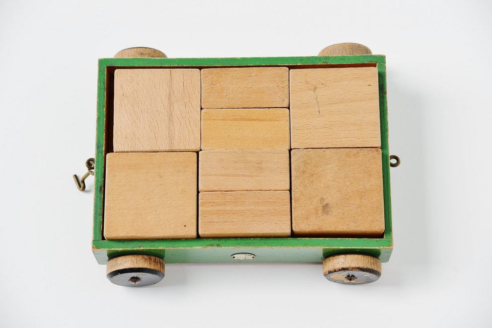 Ado toy cube car Ko Verzuu Holland 1937