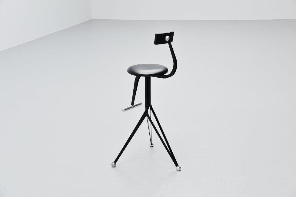 Ron Arad Anonimos stools set Zeus Italy 1994