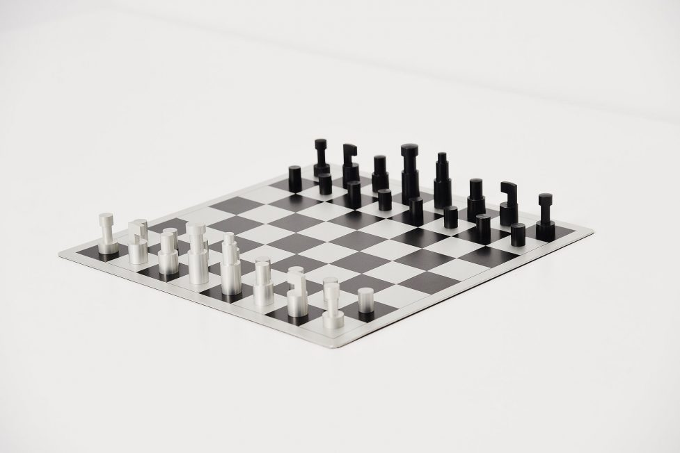 Vilmos Huszar chess game, Holland 1973