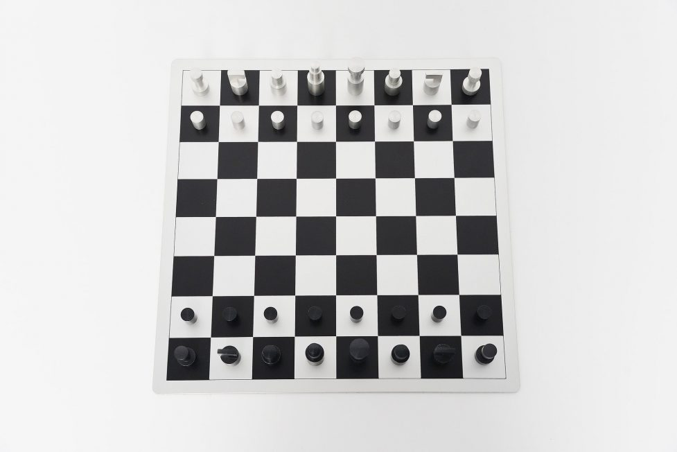 Vilmos Huszar chess game, Holland 1973