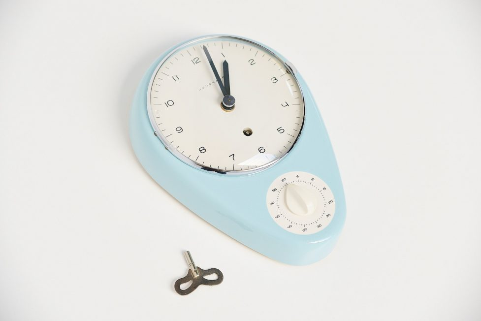 Max Bill Junghans kitchen clock 1953