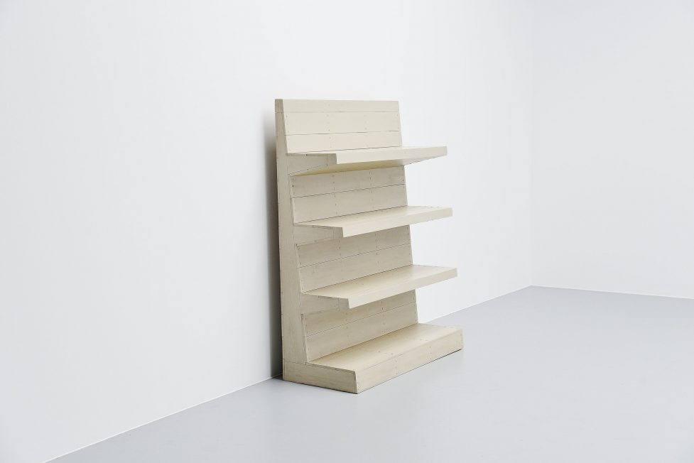 Dom Hans van der Laan bookcase / room divider 1955