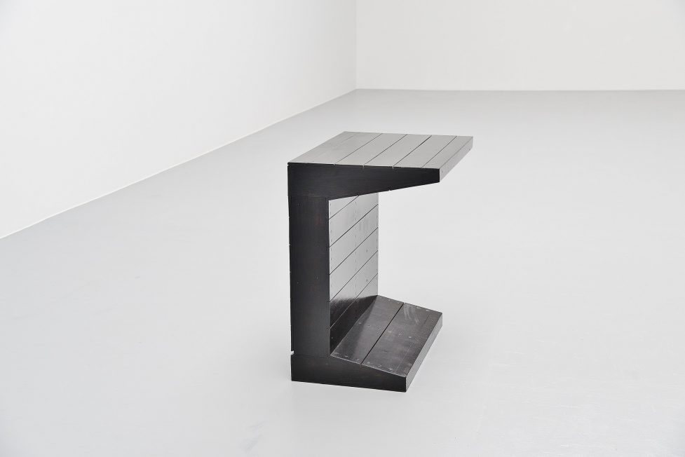 Dom hans van der Laan writing table for Town hall Budel 1966