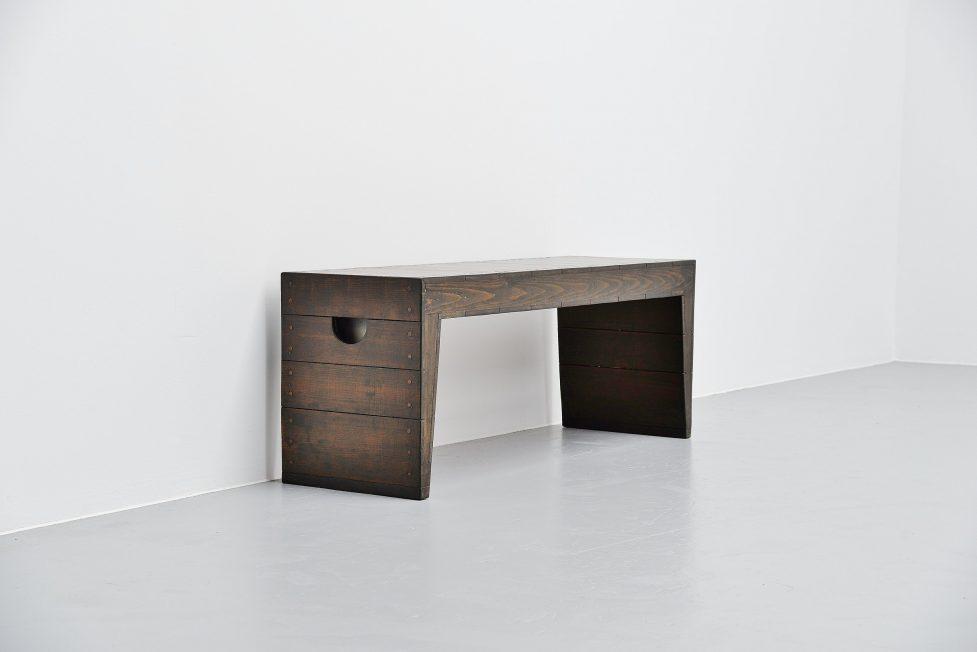 Dom hans van der Laan bench for private house Rosmalen 1973
