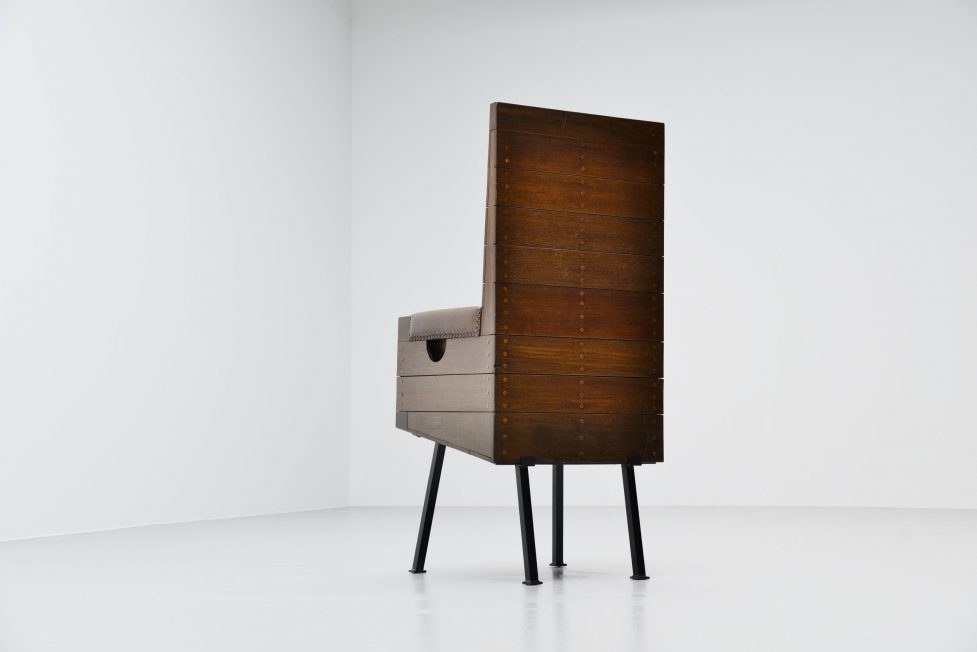 Dom hans van der Laan high chair for Town hall Budel 1966
