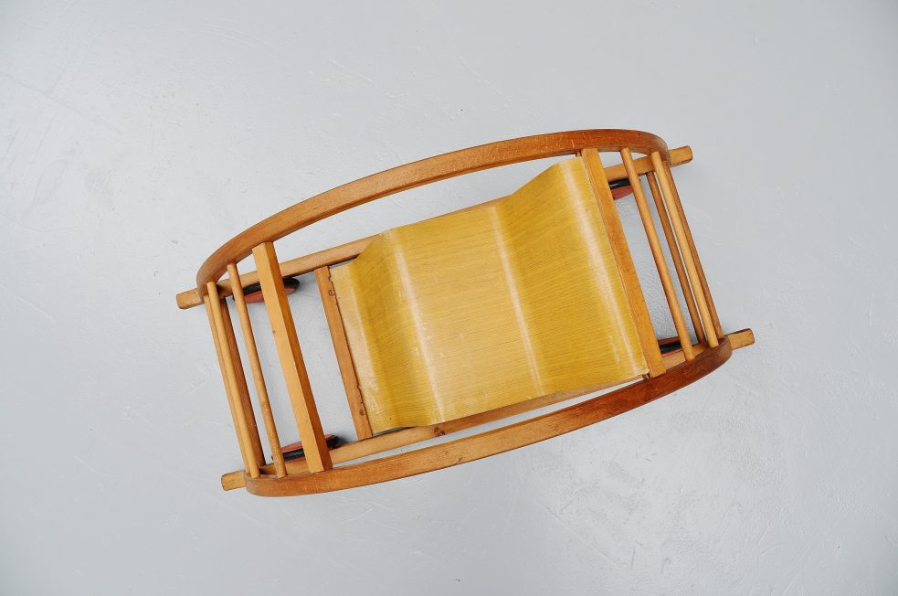 Hans Brockhage Mart Stam rocking chair / car 1949